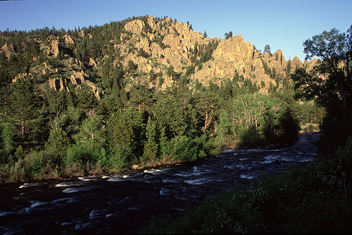 Poudre River near Indian Meadows