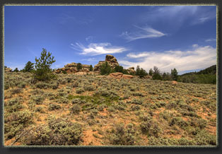Brady Rock, Wyoming