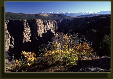 Black Canyon and the West Elk Mountains
