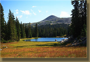Heart Lake and Medicine Bow Peak