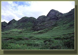 Foothills of the Wai'anae Range