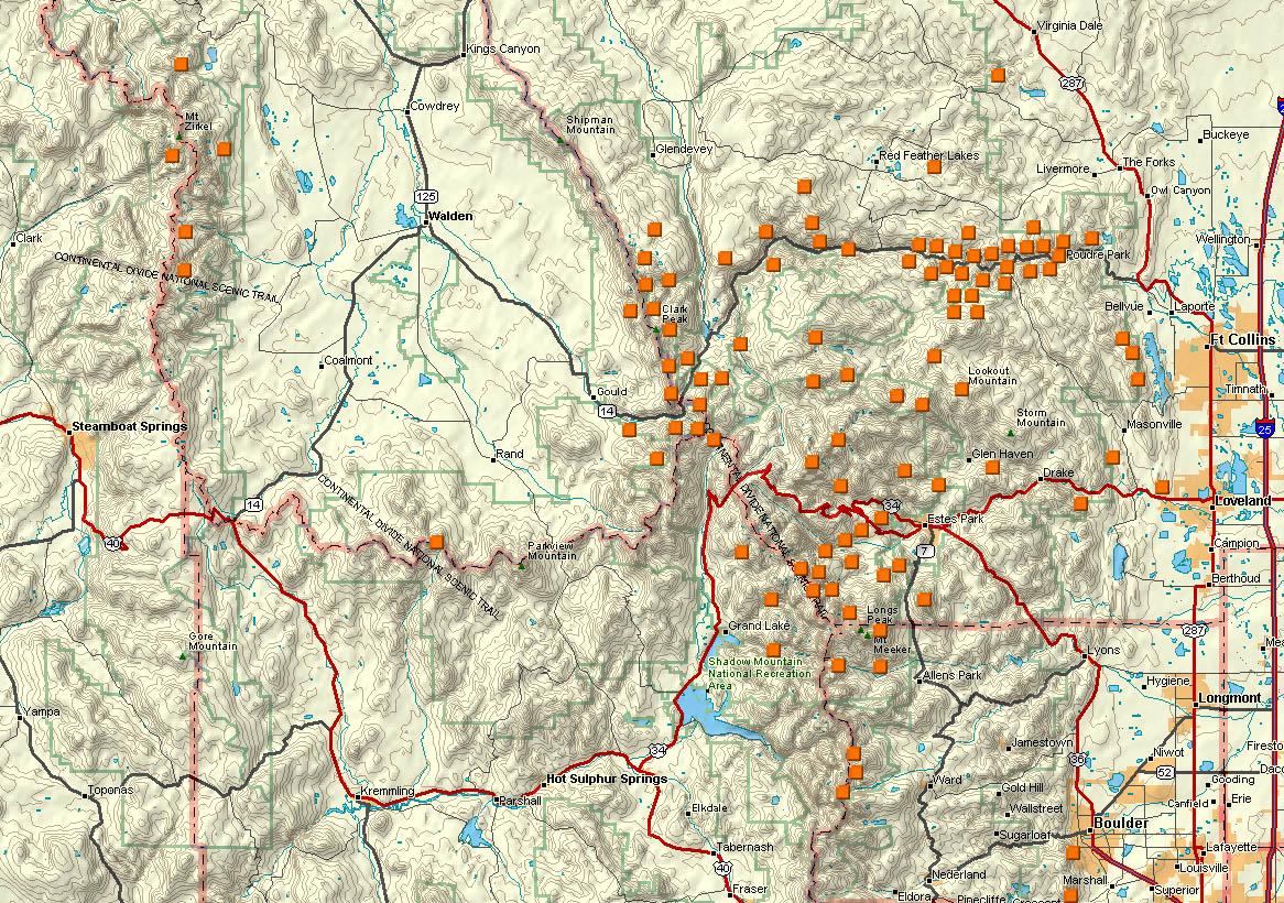 Northern Colorado Hiking Locations