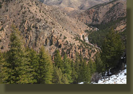 Poudre Canyon and Highway 14