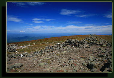 The summit of Mount Moosilauke