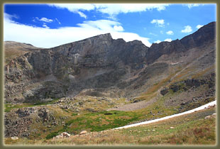 The Sawtooth from the Mt Bierstadt trail