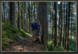 Hiking Mt Neahkahnie in Oswald West State Park, OR