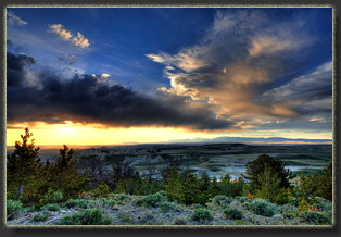 Oregon Buttes, Wyoming