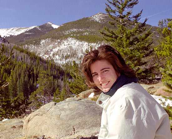 Andra on Trail Ridge Rd, 2002