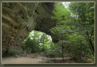 Twin Arches to Slave Falls, Big South National Recreation Area, Tennessee