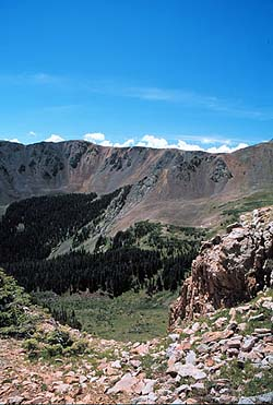 Along the trail to Wheeler Peak